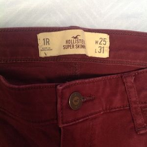 Hollister Super Skinny 1 (both pr)